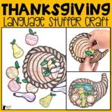 Thanksgiving Language Stuffer Craft