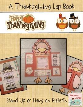 Thanksgiving Lapbook Craft