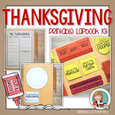 Thanksgiving Lapbook Kit