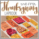 Thanksgiving Lapbook { with 12 foldables } Grades 1-4