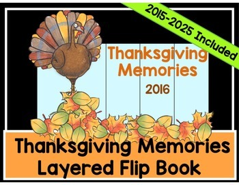 Thanksgiving Memory Book - Writing and Activities