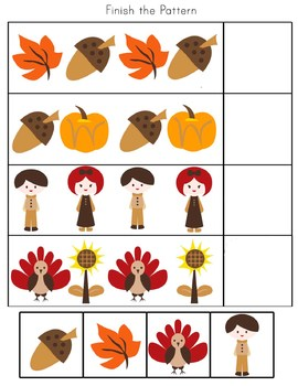 Thanksgiving Learning Pack