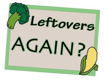 Leftovers Again?