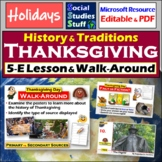 Thanksgiving: A 5-E lesson using Primary and Secondary Sources
