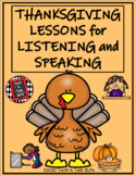 Thanksgiving Lessons for Listening and Speaking