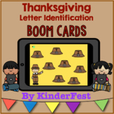 Thanksgiving Letter Identification Boom Cards