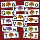 Turkey Letter Matching - Set of 26 - Uppercase to Lowercase
