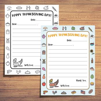 Thanksgiving Letter Pack