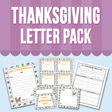 Thanksgiving Letter Pack