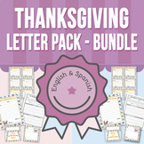 Thanksgiving Letter Pack BUNDLE