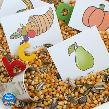 Thanksgiving Letter Recognition Activities