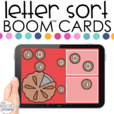Thanksgiving Letter Sort Boom™ Cards - Distance Learning f