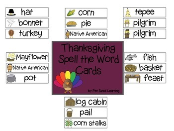 Thanksgiving Letter Sound Centers