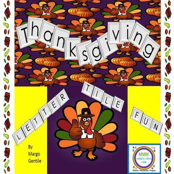 Thanksgiving Letter Tile Fun