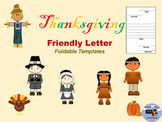 Thanksgiving Letter Writing