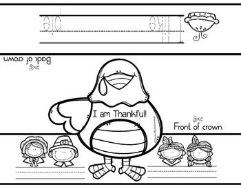 I am thankful - A Thanksgiving freebie
