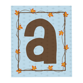 Fall, Thanksgiving Letters Decor, Bulletin Board