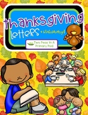 Thanksgiving Letters and Stationary