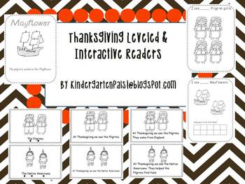 Thanksgiving Leveled & Interactive Readers