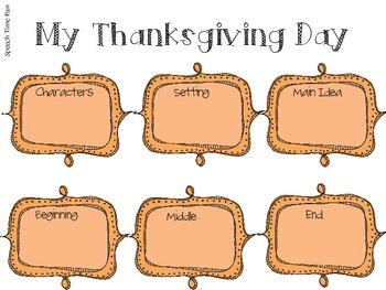 Thanksgiving Listening for Details Pack