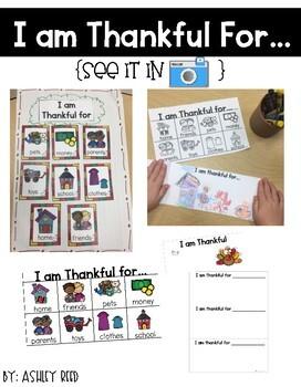 Thanksgiving Literacy