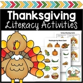 Thanksgiving Literacy Activities