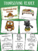 Thanksgiving Literacy Activities Pack
