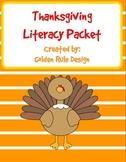 Thanksgiving Literacy Activities