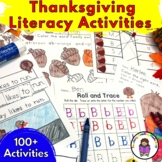 Kindergarten Thanksgiving Centers-No prep fun!