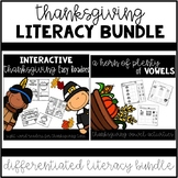 Thanksgiving Literacy Bundle {Differentiated Literacy Bundle}