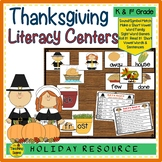 Thanksgiving Literacy Centers