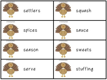 Thanksgiving Literacy Centers: 8 Skill Based Reading and Language Arts Centers