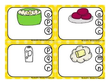 Thanksgiving Literacy Centers: Spanish