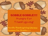 Thanksgiving Literacy Common Core aligned with How to essay