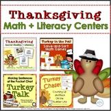 Thanksgiving Math Literacy Activity Bundle