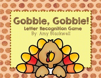 Thanksgiving Literacy Game