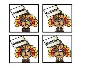 Thanksgiving Literacy Game