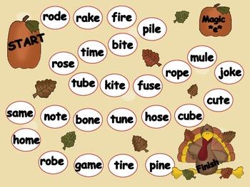 Thanksgiving Literacy Games