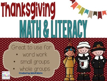 Thanksgiving Literacy & Math Activites