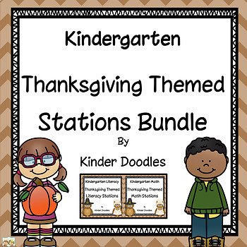 Thanksgiving Literacy & Math Bundle