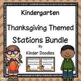 Thanksgiving Literacy & Math Bundle