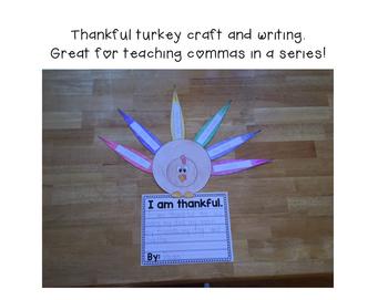 Thanksgiving Literacy & Math K-3