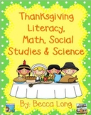 Thanksgiving Literacy, Math, Social Studies & Science