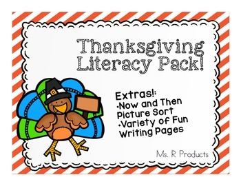 Thanksgiving Literacy Pack