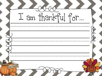 Thanksgiving Literacy Pack