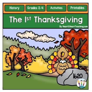 The First Thanksgiving Activities Unit & Flip Book