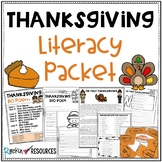 Thanksgiving Literacy Packet