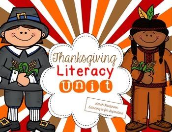 Thanksgiving Literacy Unit