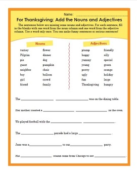 Thanksgiving Literacy Unit with ESL Lesson, Crafts, Activities and More!
