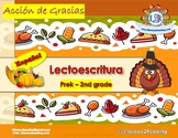 Thanksgiving - Literacy activities
